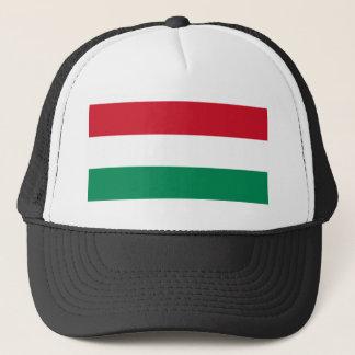Hungary Flag HU Trucker Hat