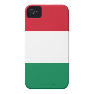 Hungary Flag iPhone 4 Case