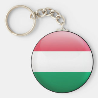 Hungary Flag Key Ring