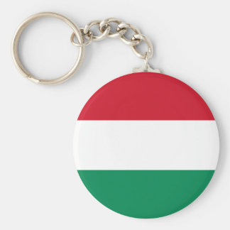 Hungary flag key ring