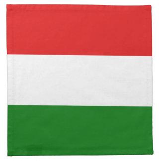 Hungary Flag Napkin