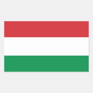 Hungary Flag Rectangular Sticker