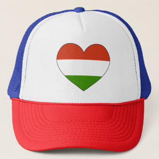 Hungary Flag Simple Trucker Hat