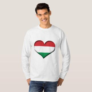 Hungary Heart Flag T-Shirt