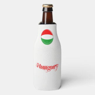Hungary Hungarian Flag Bottle Cooler