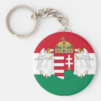 Hungary , Hungary Basic Round Button Key Ring