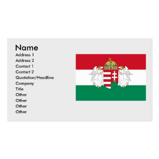 Hungary , Hungary Pack Of Standard Business Cards