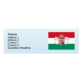 Hungary , Hungary Pack Of Skinny Business Cards