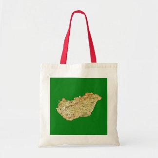 Hungary Map Bag