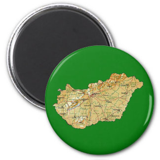 Hungary Map Magnet