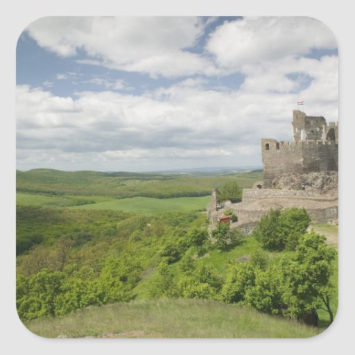 HUNGARY, Northern Uplands / Cserhat Hills, 3 Square Sticker