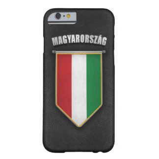 Hungary Pennant with high quality leather look Barely There iPhone 6 Case