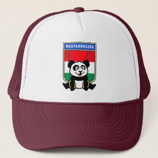 Hungary Rings Panda Trucker Hat