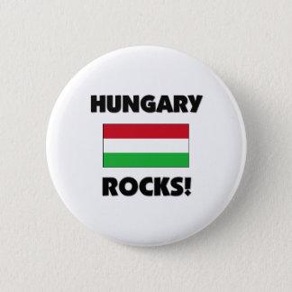 Hungary Rocks 6 Cm Round Badge