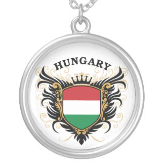 Hungary Silver Plated Necklace