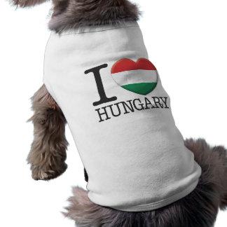 Hungary Sleeveless Dog Shirt
