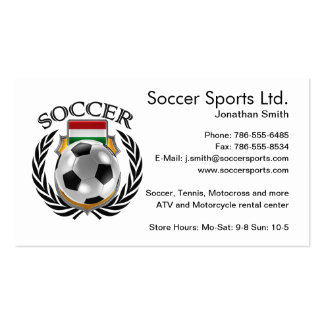 Hungary Soccer 2016 Fan Gear Pack Of Standard Business Cards
