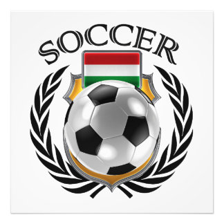 Hungary Soccer 2016 Fan Gear Photo Art