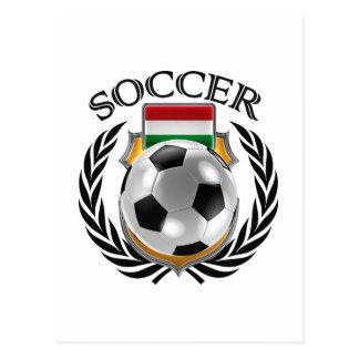 Hungary Soccer 2016 Fan Gear Postcard