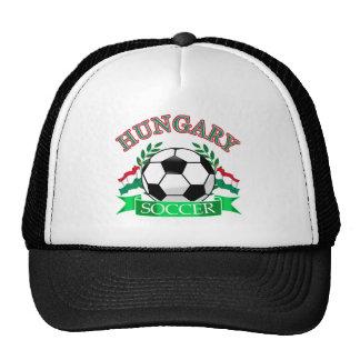 Hungary soccer ball designs trucker hat