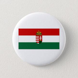 Hungary State Flag 6 Cm Round Badge