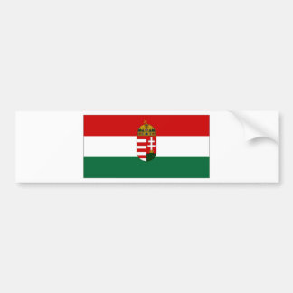 Hungary State Flag Bumper Sticker