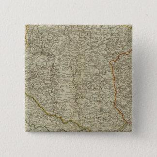 Hungary, Transilvania, Sclavonia, Croatia 15 Cm Square Badge