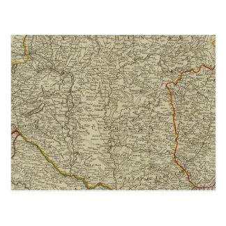 Hungary, Transilvania, Sclavonia, Croatia Postcard