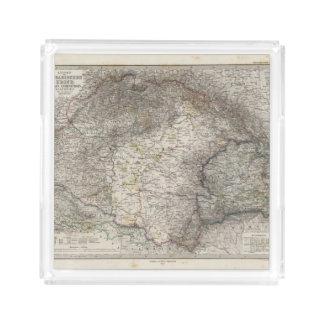 Hungary, Transylvania, Slavonia, Croatia Acrylic Tray
