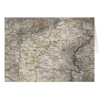 Hungary, Transylvania, Slavonia, Croatia Card