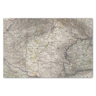 Hungary, Transylvania, Slavonia, Croatia Tissue Paper
