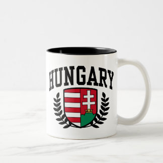Hungary Two-Tone Coffee Mug