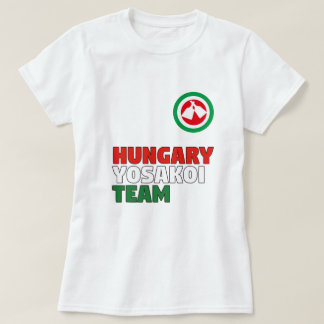 Hungary Yosakoi Team T-shirt