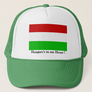 """Hungary's in my Heart"" Hat"