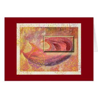 Hunger 2 Art Greeting Card