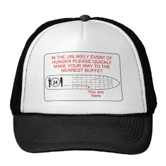 Hunger Emergency Mesh Hats