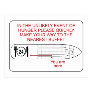 Hunger Emergency Postcard