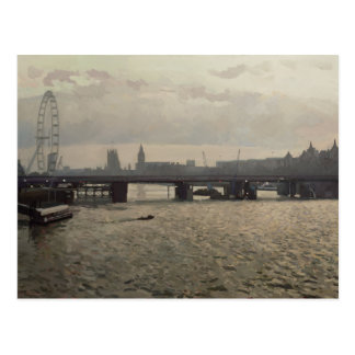 Hungerford Bridge from Waterloo Bridge Postcard