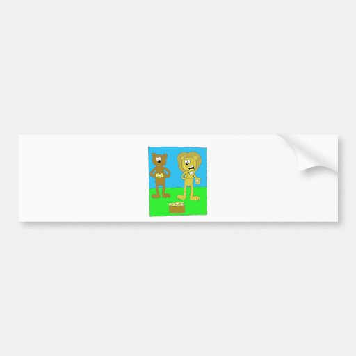 Hungry Animals Bumper Stickers