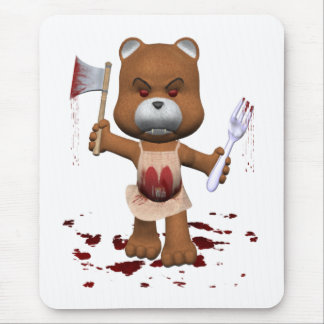 Hungry Bear Mouse Mat