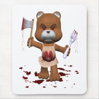 Hungry Bear Mouse Mat