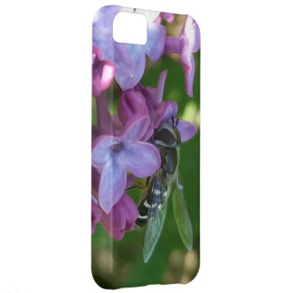 Hungry Bee and Lilacs iPhone 5C Case