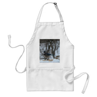 Hungry Blue Jay Adult Apron