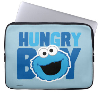 Hungry Cookie Monster Laptop Sleeve