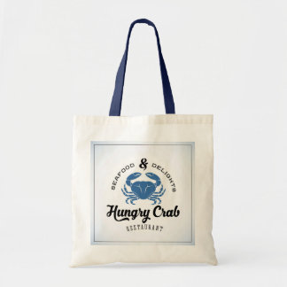 Hungry Crab Restaurant Poster Budget Tote Bag