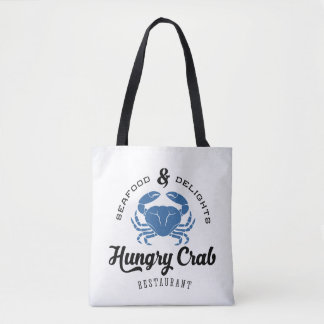 Hungry Crab Restaurant Poster Tote Bag