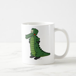 Hungry Crocodile Coffee Mug