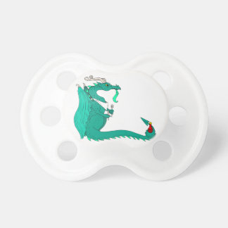 Hungry Dragon Baby Pacifiers