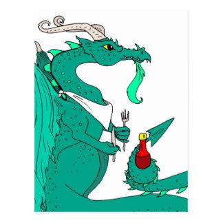 Hungry Dragon Postcards