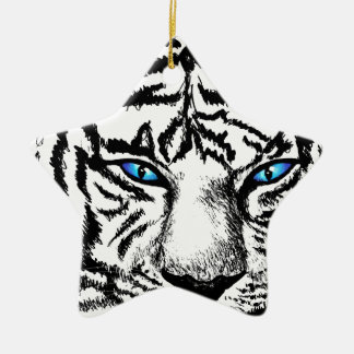 Hungry Eyes Christmas Ornament